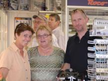 Grillfest bei der Modellbahnwerkstatt Nagel am 28.07.2012