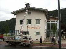 Baufortschritt 2012