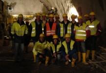 Tunnel Besichtigung Unterinntaltrasse von Terfens bis Stans