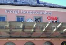150 Jahre Eisenbahn in Tirol am Bahnhof Wörgl