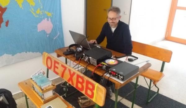 Besuch der Funk Amateure am 4. Jänner 2020