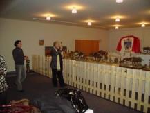 Das Weihen der Krippen im Dezember 2008
