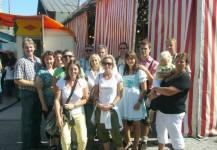 Der MEC-Bruckhäusl und deren Frauen besuchten das Herbstfest in Rosenheim am 30. August 2009