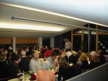 Vereinsfeier für die freiwilligen Helfer der Weihnachtsausstellung am 21.11.2009