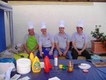 Grillfeier bei der Modellbahnwerkstatt Nagel unter Mitwirkung des Clubs am 31.07.2010